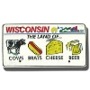Gift Pro Inc. Wisconsin License Plate Magnet