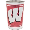 WinCraft Wisconsin Badgers Tapered Wastebasket thumbnail