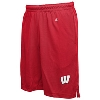 Champion Wisconsin Badgers Mesh Shorts (Red)