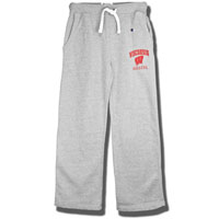 Champion Open Bottom Sweatpants (Gray) *