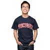 Champion Arch Wisconsin T-Shirt (Navy)