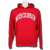 JanSport Wisconsin Badgers Hooded Sweatshirt (Red)