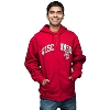 JanSport Wisconsin Full Zip Hooded Sweatshirt (Red)