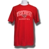 JanSport T-shirt with faded design (Red)