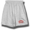 Top Promotions Cotton Wisconsin Workout Short (Gray)