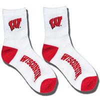 For Bare Feet Instep WI Crew Sock (White)