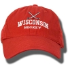 Legacy Adjustable Hat Hockey (Red)