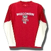 College Kids Toddler's Long Sleeve Wisconsin T-Shirt (Red) *