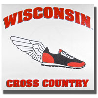 Potter Decals Die-Cut Cross Country Decal