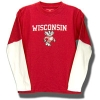College Kids Youth Double Layer Longsleeve T-Shirt (Red)