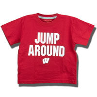 College Kids Toddler Jump Around T-Shirt (Red)