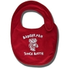 College Kids Badger Fan Bib (Red)