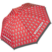 Storm Duds Allover Bucky Umbrella (Red)