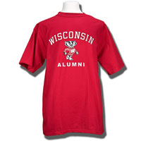 Blue 84 Wisconsin Alumni T-Shirt (Red)