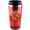 R.F.S.J. Bucky Badger Stainless Steel Tumbler (Red)