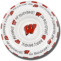 Magnolia Lane Wisconsin Badgers Chip and Dip Bowl