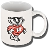 Nordic Bucky Badger Coffee Cup (White)