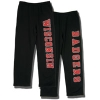 JanSport Front/Back Wisconsin Sweatpants (Black)