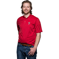 Antigua UW Bucky Badger Polo (Red) *