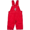 Creative Knitwear Bucky Badger Infant/Toddler Overalls (Red) thumbnail