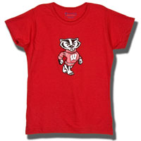 Champion Girl's Foil Bucky T-Shirt (Red)