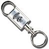 LXG Inc. Engraved Valet Key Chain (Silver) *