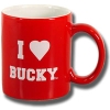 Spirit Products I (Heart) Bucky Mug (Red)