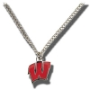 WinCraft Wisconsin W Necklace*