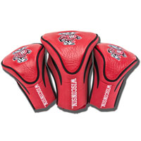 Team Golf 3 Pack Headcovers (Red)