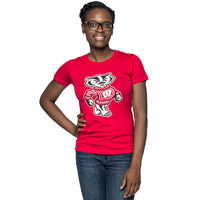 Top Promotion Women's Bucky T-Shirt (Red)