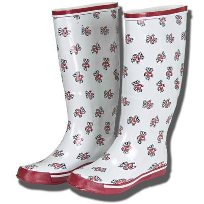 Children Boots  Shoes on Fan Shoes Kids Rain Boots  White    University Book Store