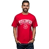Champion Wisconsin Badgers Big 10 Basketball T-Shirt (Red)