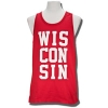 "Venley ""WIS-CON-SIN"" Tank Top (Red)"
