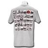 JanSport Wisconsin Shield T-Shirt (Gray) * thumbnail