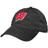Legacy Adjustable Wisconsin Motion W Hat (Black)