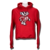JanSport Patch Bucky Hooded Sweatshirt (Red) *