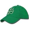 Legacy Wisconsin Shamrock Adjustable Hat (Kelly Green) thumbnail