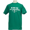 "Champion ""Kiss Me"" Wisconsin Badger T-Shirt 3X (Green)"