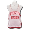 League Women's Bucky Badger Pinnie (Red/White) thumbnail