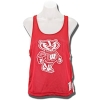 League Women's Bucky Badger Pinnie (Red/White)