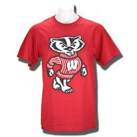 JanSport Puff Ink Bucky T-Shirt (Cardinal) *
