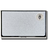 CSI Textured Card Holder Wisconsin Shield W (Silver)