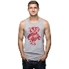 Top Promotions Unisex Bucky Badger Tank Top (Gray)