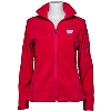 Columbia Women's Wisconsin Badgers Full Zip Fleece (Red) *