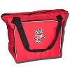 Logo Chair Bucky Badger Cooler Tote (Red)