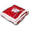 Logo Chair Sherpa Blanket (Red)