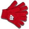 Logofit Wisconsin Badgers Gloves (Red)