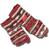Logofit Shear Delight Flap Mittens (Red/Gray/White)