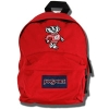 JanSport Small Fry Bucky Badger Backpack (Red)