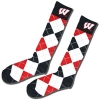 Donegal Bay Wisconsin Badger Argyle Knee Socks